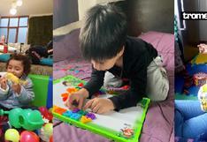 El 'Día del Niño' se celebró en cuarentena con amor, juegos y shows virtuales | FOTOS