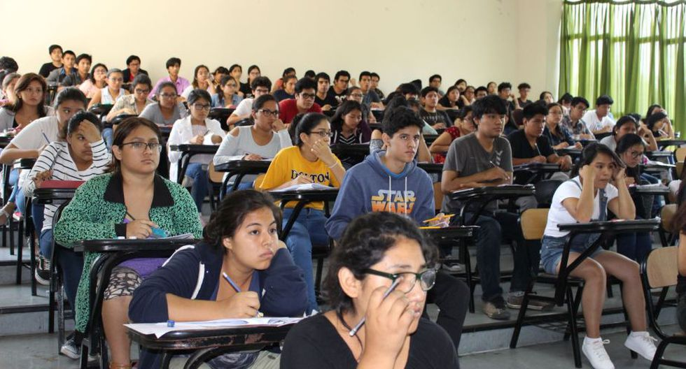 Los postulantes buscan acceder a una de las 4,768 vacantes que ofrece la casa de estudios. (Foto: Andina)
