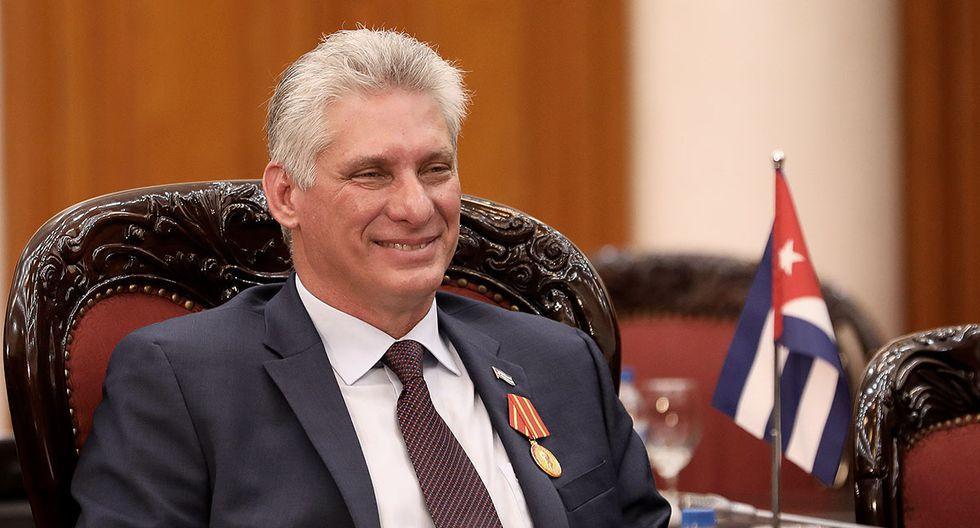 El presidente de Cuba, Miguel Díaz-Canel. (Foto: AFP/Archivo)