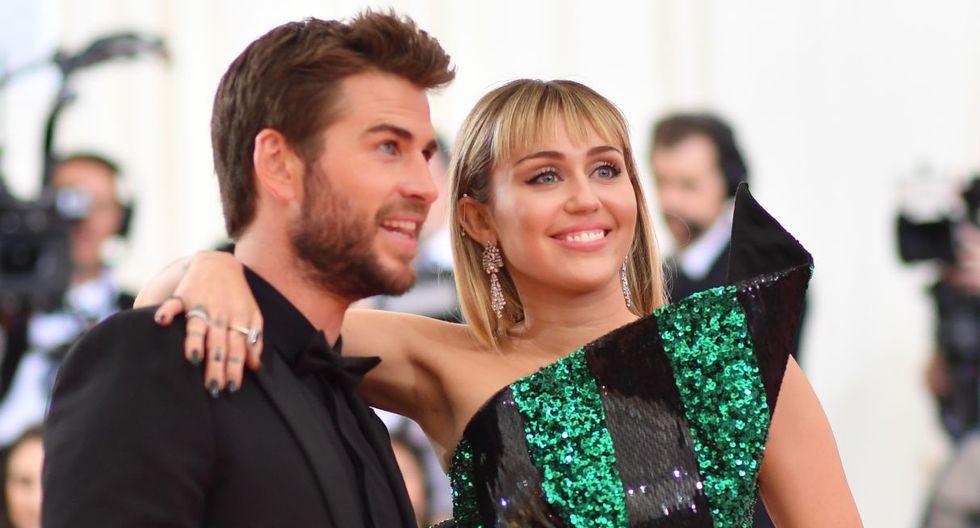 Miley Cyrus negó cualquier tipo de infidelidad a Liam Hemsworth. (Foto: AFP)