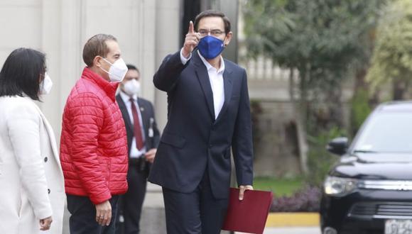 Martín Vizcarra ejerce su defensa en el Congreso | Foto: Anthony Niño de Guzmán / @photo.gec | TROME