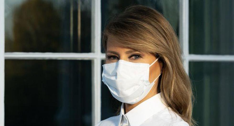 Donald Trump anunció esta madrugada que él y su esposa Melania habían dado positivo por coronavirus. (Foto: @FLOTUS, vía Twitter).