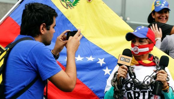 Venezuela es uno de los países con más casos de violaciones a la libertad de expresión y agresiones la prensa. (Foto: Reuters)