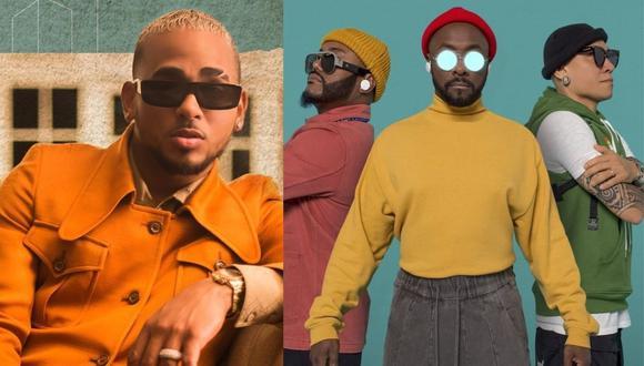 Ozuna y Black Eyed Peas se sumaron a las celebraciones de los Latin Billboard 2020. (Foto: @ozuna/@bep)