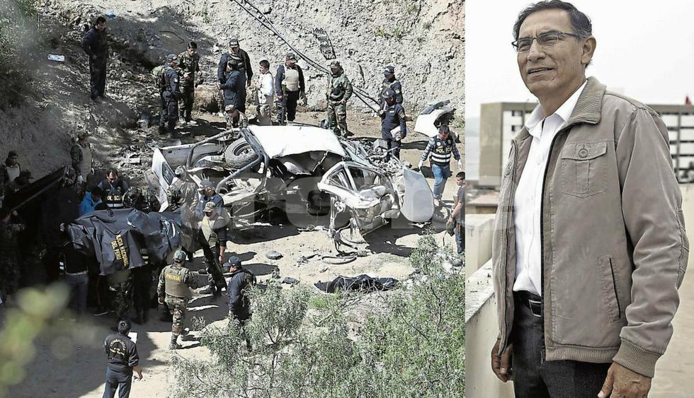 Martín Vizcarra promete cazar a los asesinos de 4 policías en Huancavelica