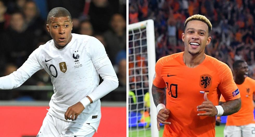 Francia vs Holanda por Liga de Naciones de la UEFA