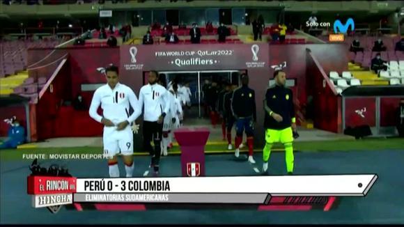 Eliminatorias Qatar 2022: Mira el resultado del partido Perú vs. Colombia