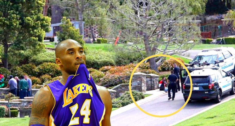 Vandalizan tumba de Kobe Bryant en Los Ángeles