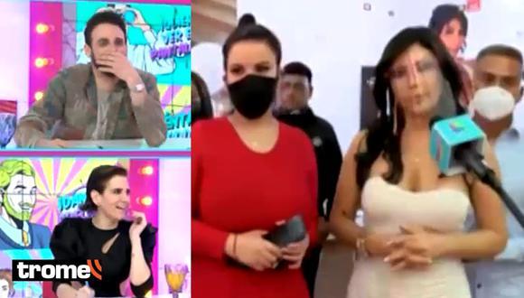 Milena Zárate presentó a su novio y 'Peluchín' le hace 'fría' broma