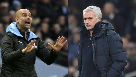 Mourinho vs Guardiola: Así es la relación entre ambos técnicos, según el DT portugués previo al City-Tottenham
