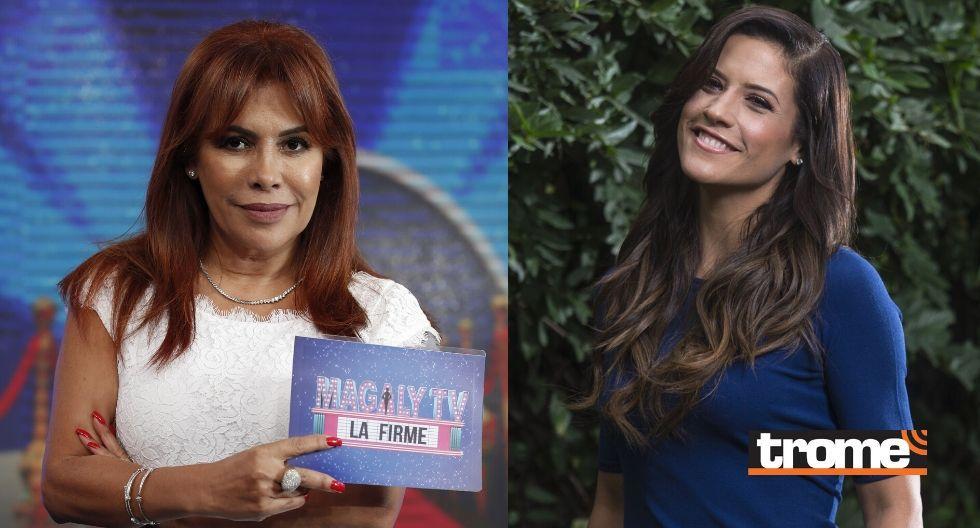 Magaly Medina y María Pía Copello