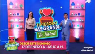 Laura Borlini estrena nuevo programa este domingo por Panamericana TV