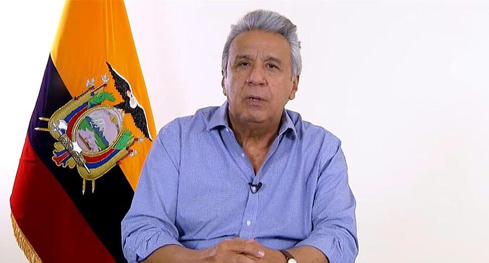 Fotografía de Lenín Moreno, presidente de Ecuador. (EFE).