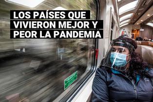 Coronavirus: estos son los países en los que podrías o pasar la pandemia