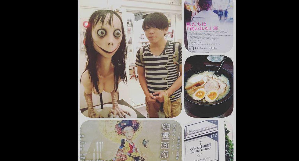 Hace uno días millones de jóvenes en el mundo han sumado un personaje a sus pesadillas nocturnas. Esta es la historia de un personaje llamado Momo que se volvió viral en WhatsApp. (Capturas: Instagram)