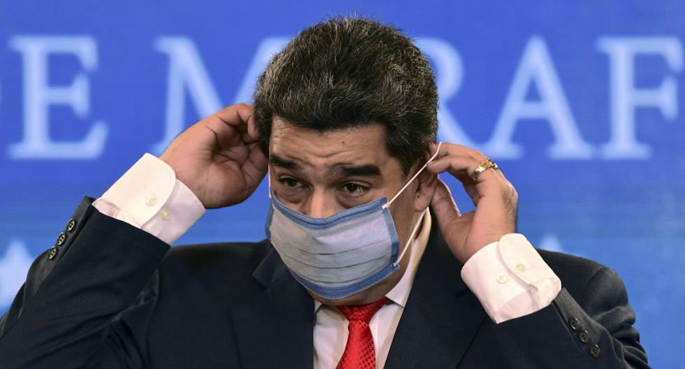 El presidente de Venezuela, Nicolás Maduro, dijo que vacunará de forma gratuita contra el coronavirus a todas las personas que residan en su país, sin importar su nacionalidad. (Foto: Yuri CORTEZ / AFP).