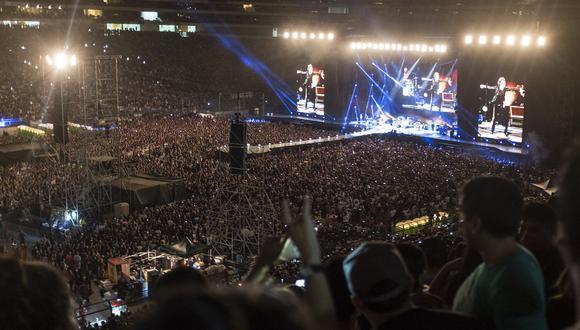 Ante 50 mil almas que abarrotaron el estadio Monumental la banda conformada por Mick Jagger, Keith Richards, Charlie Watts y Ronnie Wood, nos brindó un espectacular concierto que duró cerca de 2 horas. (Foto: GEC Archivo)