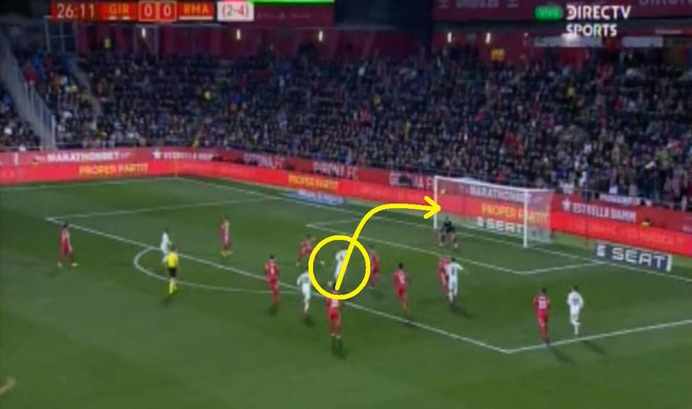 GOLAZO de Benzema: Pared y lujo en la definición en el Real Madrid vs Girona  por Copa del Rey