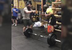 Joven con parálisis cerebral cargó una pesa de 100 kilos y su acto de superación fue un suceso mundial [FOTOS Y VIDEO]