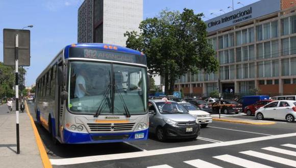 Modificación de la ruta 306 del corredor azul beneficiaría a 6.000 usuarios. (Foto: Municipalidad de Lima)