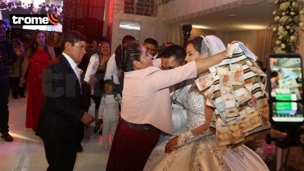 Inés Melchor: regalos y celebración (Foto: Trome)