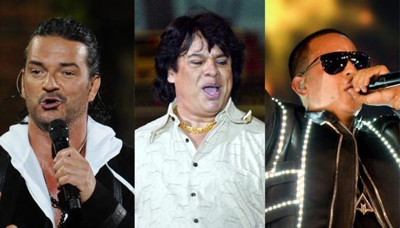 Canciones de Ricardo Arjona, Juan Gabriel y Daddy Yankee figuran en la lista de las 50 mejores canciones latinas de la historia, según Billboard. (Foto: AFP)