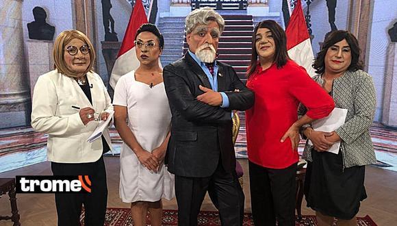 JB realiza parodia de entrevista de Mónica Delta, Sol Carreño, Pamela Vertiz y Rossana Cueva a Francisco Sagasti