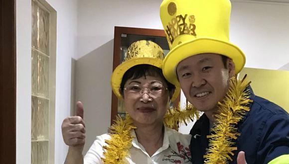 Kenji Fujimori deseó un feliz 2018 a todos los peruanos. Foto: Twitter