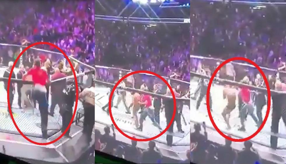 Conor McGregor fue atacado por dos rusos, compañeros de Khabib. (Redes sociales/Agencias)