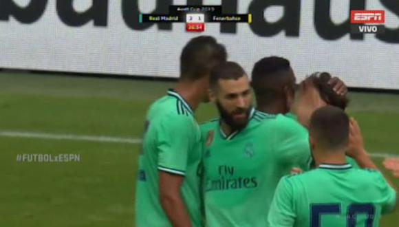 Gol Benzema 2-1 Real Madrid vs. Fenerbahce