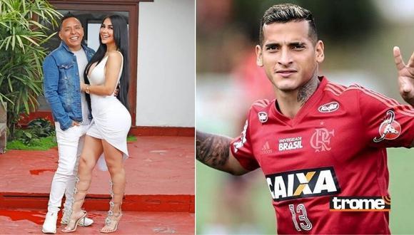 Pilar Gasca no hace caso a futbolistas y arrocha a Miguel Trauco
