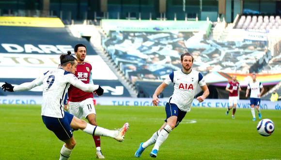 Gareth Bale anota doblete con Tottenham  (Foto: AP)