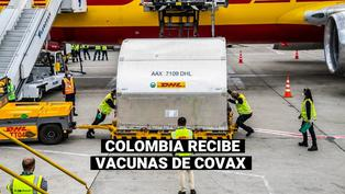 COVID-19: Colombia recibe 117.000 vacunas de Covax, las primeras en América