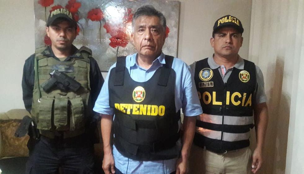 Cae alcalde provincial David Cornejo por encabezar banda 'Los temerarios del crimen'. Foto: Difusión