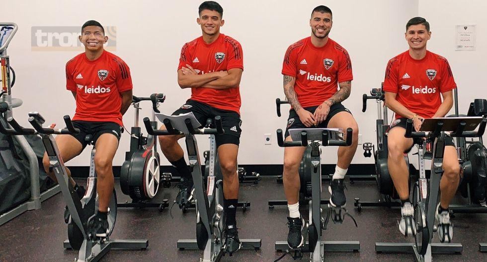 Edison Flores empezó pretemporada en DC United