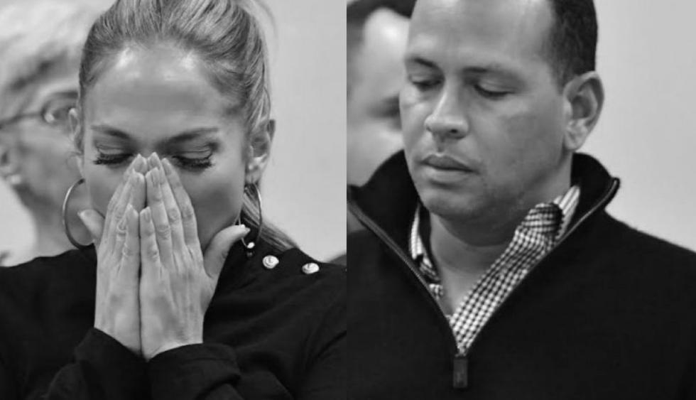Jennifer Lopez y Alex Rodríguez tuvieron una acalorada discusión. Fotos: Instagram / Agencias