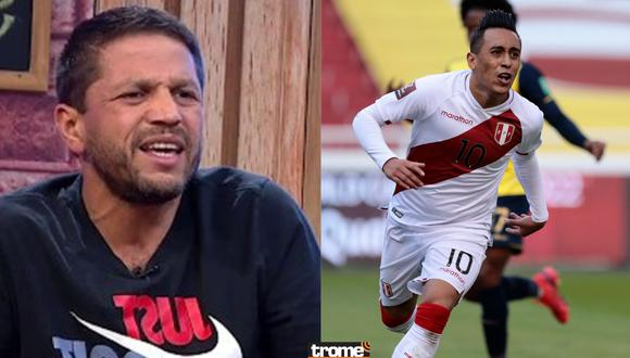 Pedro García dio con palo a Christian Cueva por 'privadito' tras ganar en Quito.