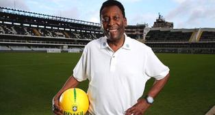 Pelé celebra su cumpleaños número 80
