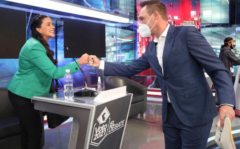 Las mejores fotos del debate presidencial. (Foto: GEC)