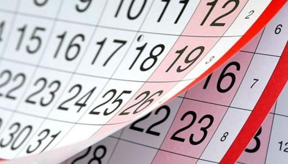 Este viernes 2 de noviembre será feriado no laborable.