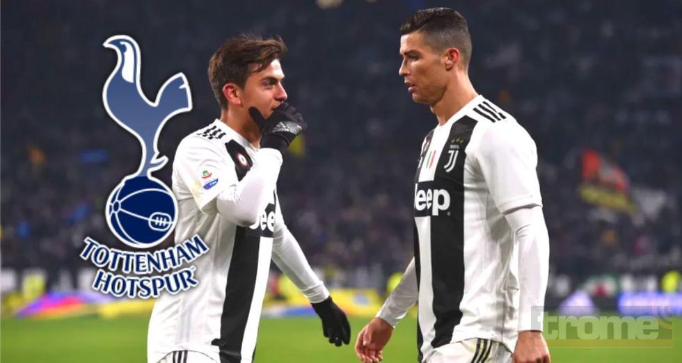 70 millones de euros llevarían a Paulo Dybala de Juventus a Tottenham