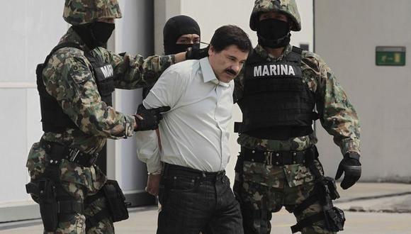 """""""El Chapo"""" Guzmán cumple cadena perpetua en EE.UU. por haber liderado el cartel de Sinaloa. (Getty Images)."""