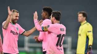 Barcelona derrotó 2-0 a Juventus por la Champions League