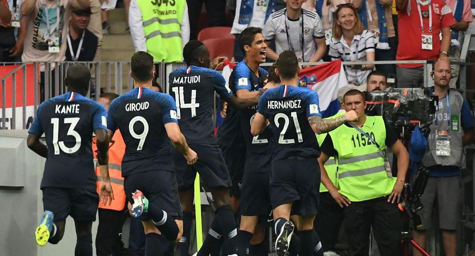 Final Mundial: Goles Griezmann y Perisic Francia vs Croacia EN VIVO | Rusia 2018