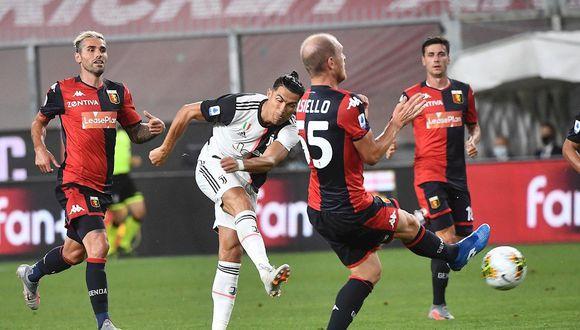 Cristiano Ronaldo puso el 2-0 en el Juventus vs. Genoa por la Serie A. (Foto: EFE)