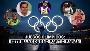 Tokio 2020: conoce a las leyendas que no participarán en los Juegos Olímpicos
