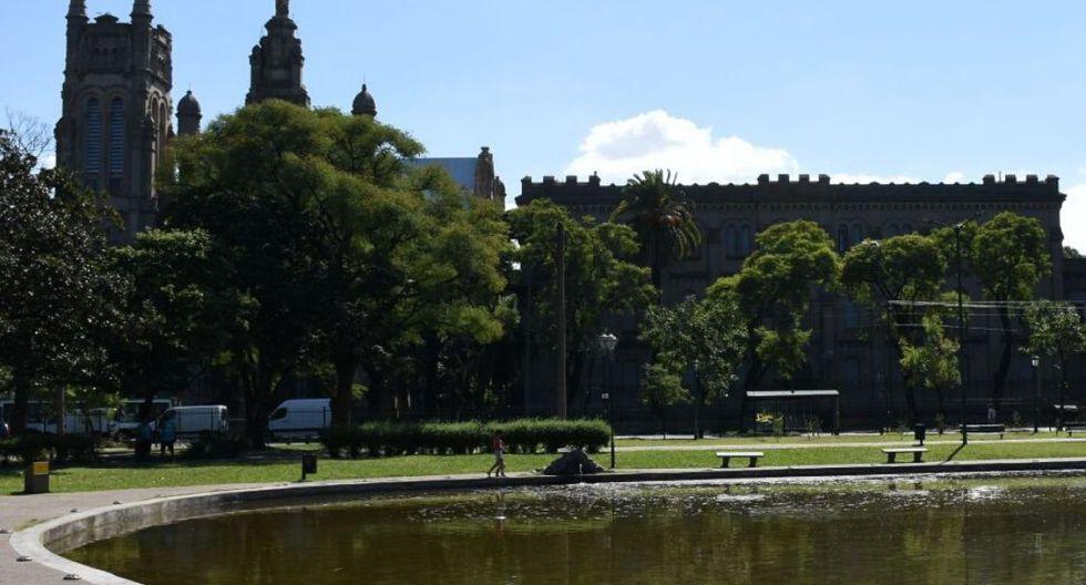 El lago del parque Leonardo Pereyra. (Foto: Ente de Buenos Aires)