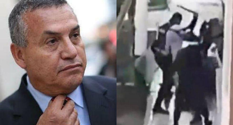 Urresti defiende a serenos que golpearon a venezolanos
