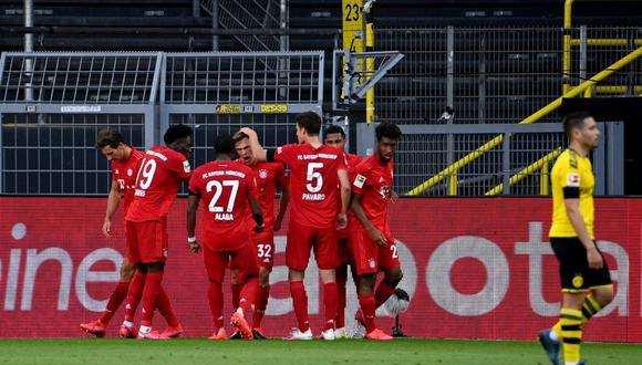 Bayern Munich vs Borussia Dortmund, por la fecha 28 de la Bundesliga