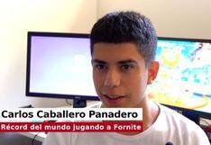 Fortnite: Joven español batió récord mundial al jugar 200 horas sin parar [VIDEO]